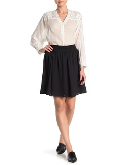 French Connection Komo Solid Flared Skirt