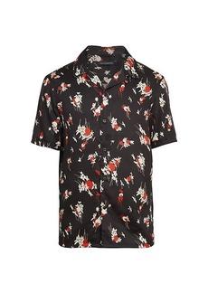 French Connection Leda Floral Short-Sleeve Shirt