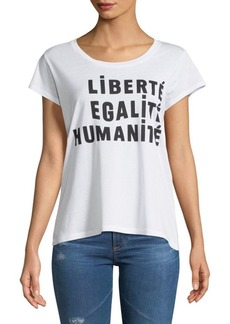 French Connection Liberte Graphic Tee