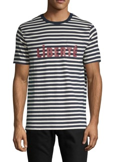 French Connection Liberte Short-Sleeve Cotton Tee