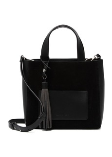 French Connection Suede Linnet Contrast Satchel