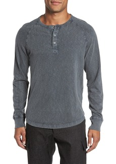 French Connection Long Sleeve Raglan Henley