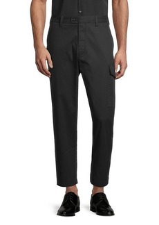 French Connection Machine Stretch Crop Trousers