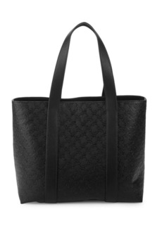 French Connection Marin Logo Embossed Tote