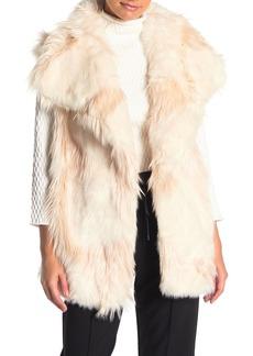 French Connection Marion Faux Fur Vest
