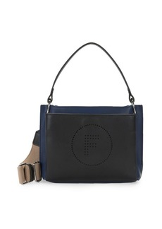 French Connection Maxine Faux Leather Crossbody Bag