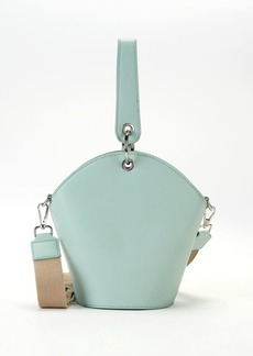 French Connection Medina Faux Leather Bucket Bag