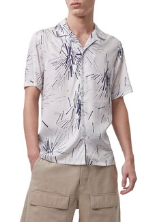 Men's French Connection Short Sleeve Button-Up Shirt