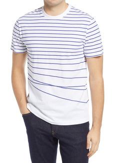 Men's French Connection Warped Breton Stripe Men's T-Shirt