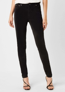 French Connection Mid Rise Velveteen Skinny Jeans