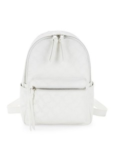 French Connection Mini Marin Embossed Logo Backpack