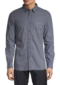 French Connection Overdyed Button-Down Shirt