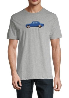 French Connection Pixel Car T-Shirt