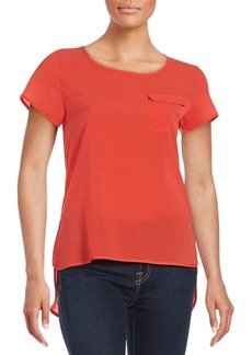 French Connection Plains Riot Solid Top