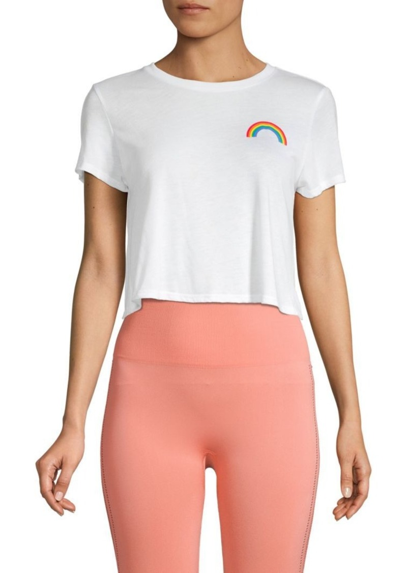 French Connection Pride Rainbow Crop Top