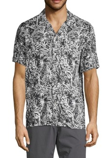 French Connection Regular-Fit Paikau Palm Shirt