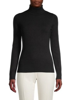 French Connection Rib-Knit Turtleneck Sweater