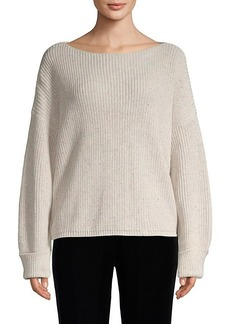 French Connection Ribbed Cotton Sweater