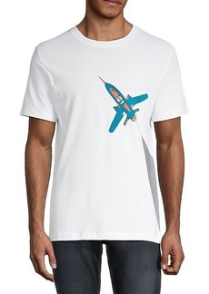 French Connection Rocket Graphic T-Shirt