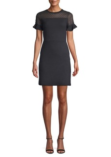 French Connection Roseia Textured Sheath Dress