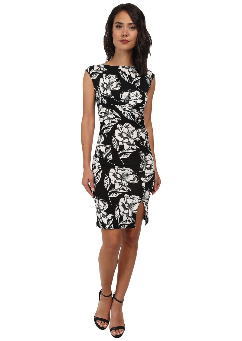 2389c45f098 SALE! French Connection Shadlow Bloom Mono Dress 71DHW