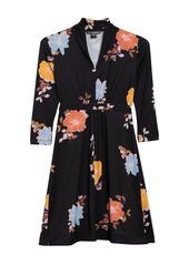 French Connection Shikoku Floral Print Dress