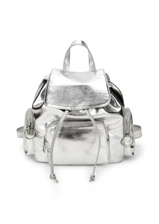 French Connection Small Henley Metallic Backpack