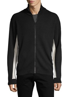 French Connection Stand Collar Full-Zip Jacket
