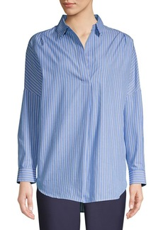 French Connection Striped Collared Shirt