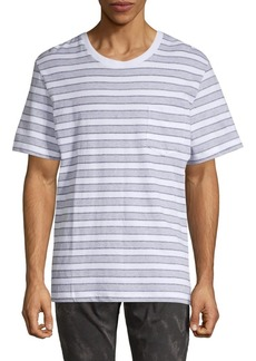 French Connection Striped Cotton Tee
