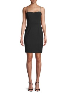 French Connection Sweetheart Neckline Mini Sheath Dress