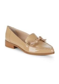 French Connection Tasseled Point Toe Loafers