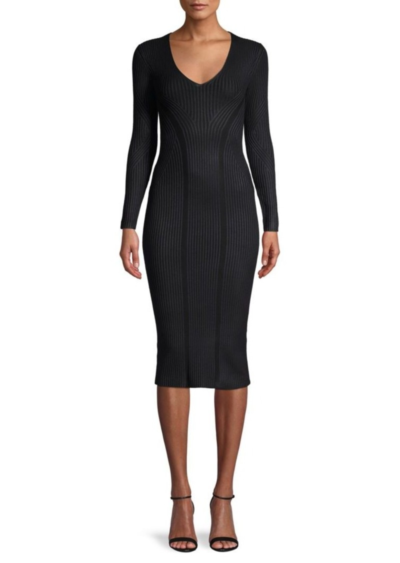 French Connection Textured Bodycon Dress