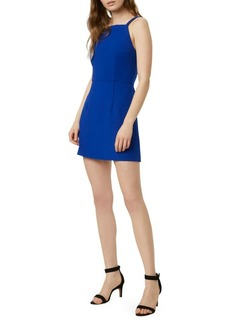 French Connection Whisper High-Neck Mini Dress