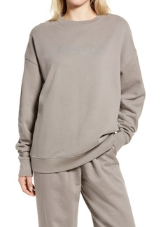 French Connection Women's Fcuk Women's Oversize Graphic Sweatshirt