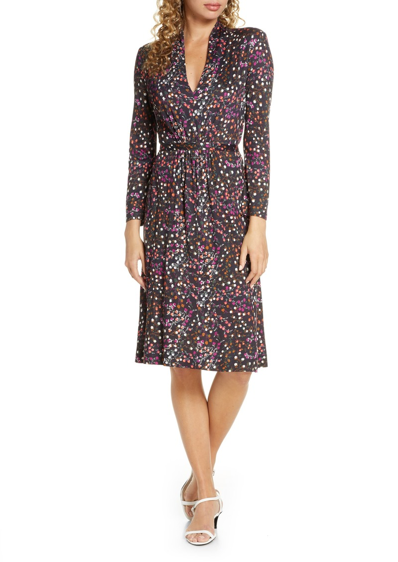 Women's French Connection Frances Meadow Jersey Long Sleeve Dress