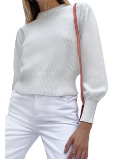Women's French Connection Jamie Textured Cotton Sweater