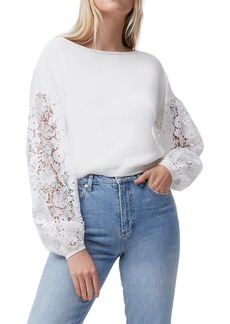 Women's French Connection Josephine Lace Knit Top