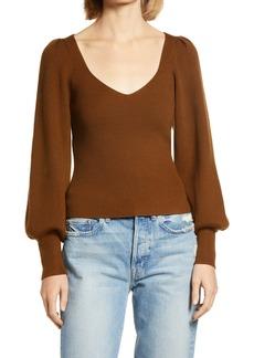 Women's French Connection Joss Blouson Sleeve Sweater