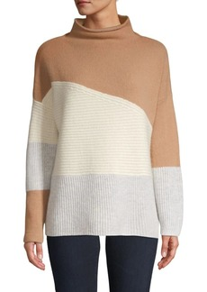 French Connection Wool-Blend Colorblock Sweater