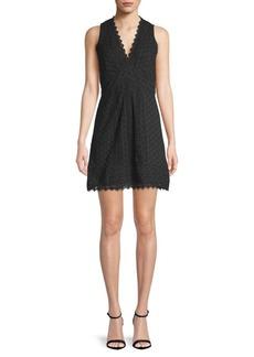 Zahra Lace Cotton Dress