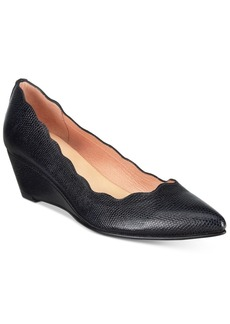 French Sole Fs/Ny Terrazzo Pointed-Toe Wedge Pumps Women's Shoes