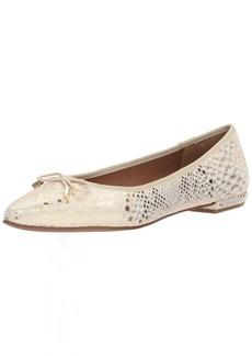 French Sole FS/NY Women's Anaconda Shoe gold  Medium US
