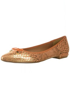 French Sole FS/NY Women's Anaconda Shoe orange  Medium US