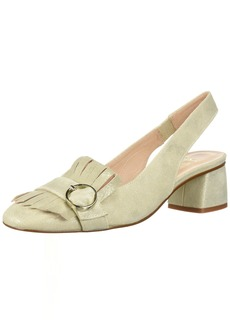 French Sole FS/NY Women's Boast Shoe platino  Medium US