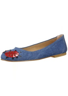 French Sole FS/NY Women's Buggy Shoe denim  Medium US