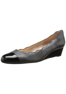French Sole FS/NY Women's Miles Wedge Pump