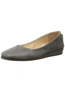 French Sole Women's Zeppa Slip on Shoes
