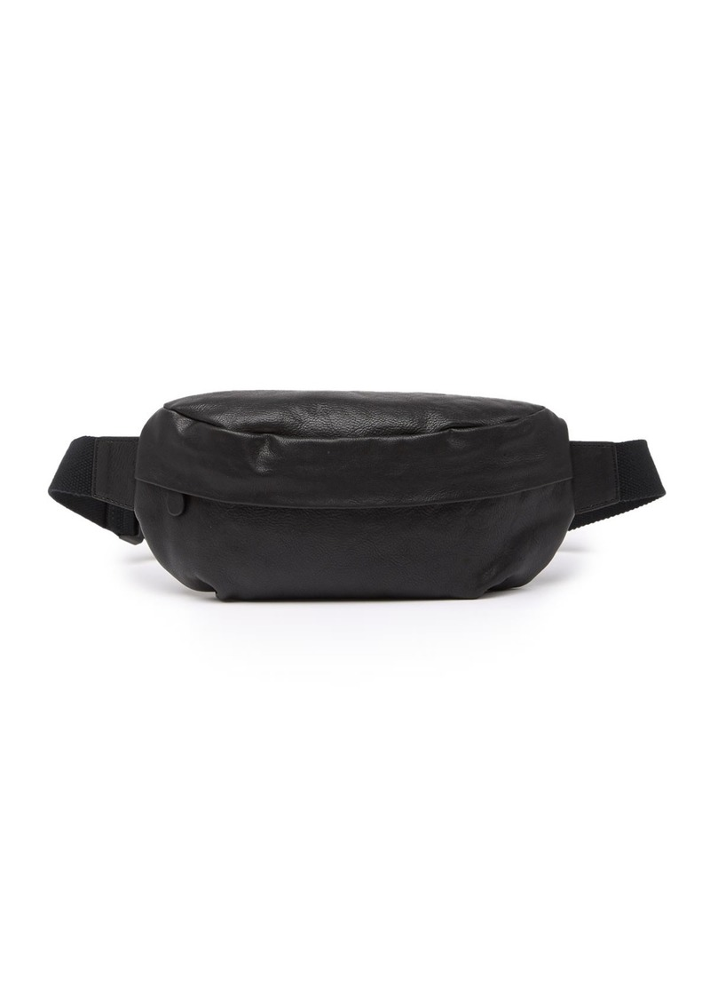 Frye 38mm Leather Zip Belt Bag