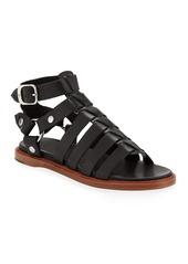 Frye Andora Leather Gladiator Sandals